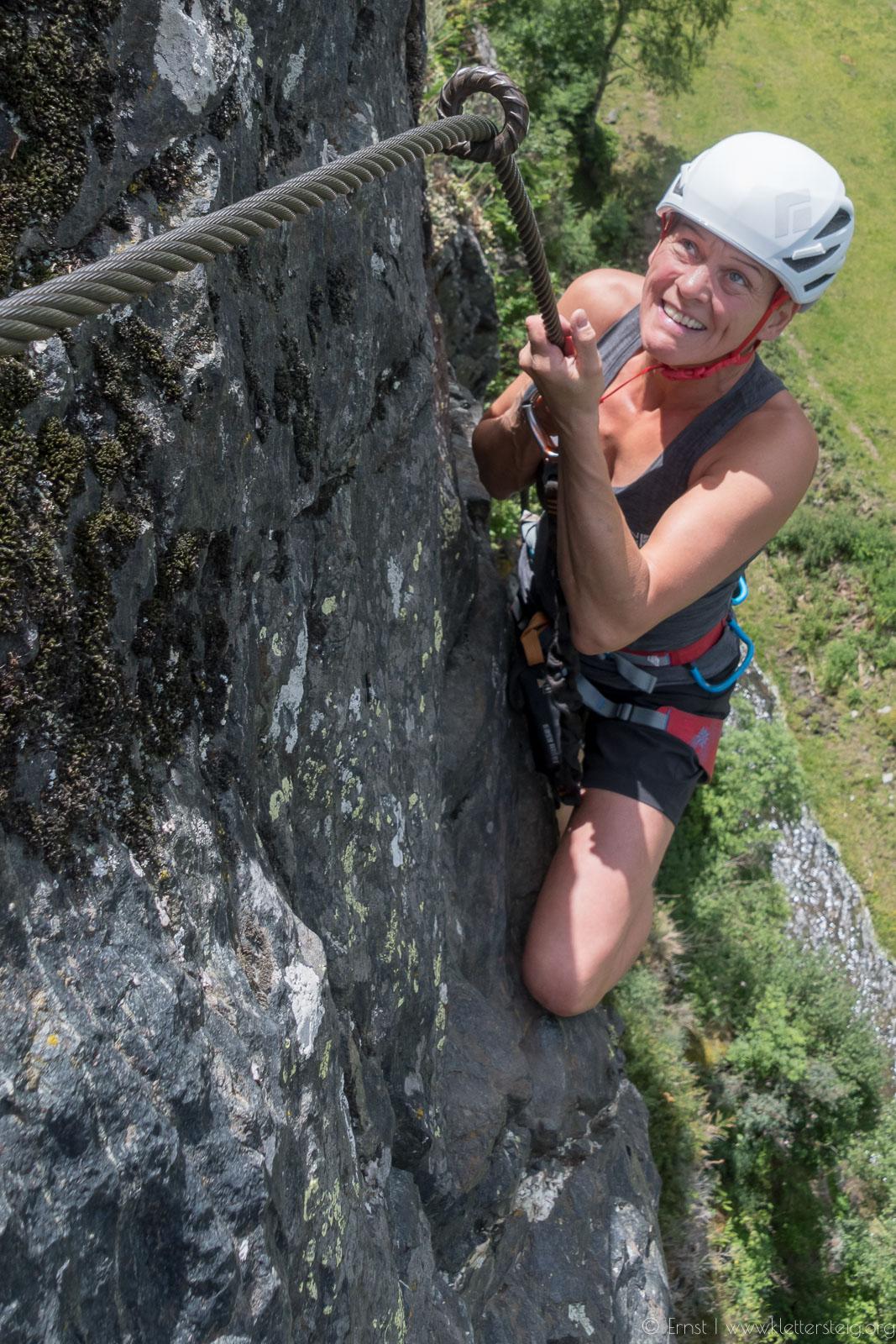 blumige Burgsteinwand im Juni 2018