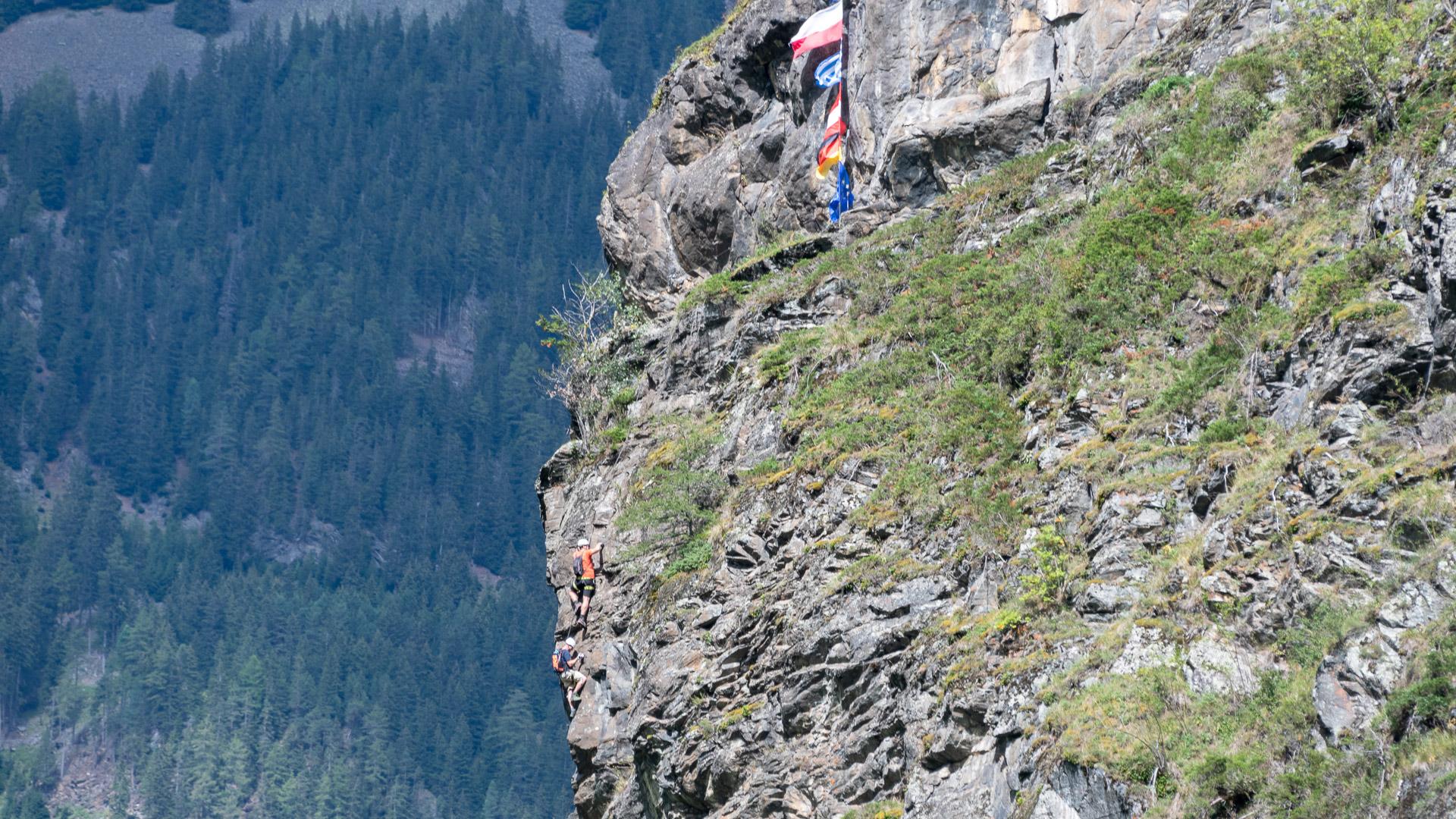 Klettersteig Längenfeld : Klettern in längenfeld tirol Österreich