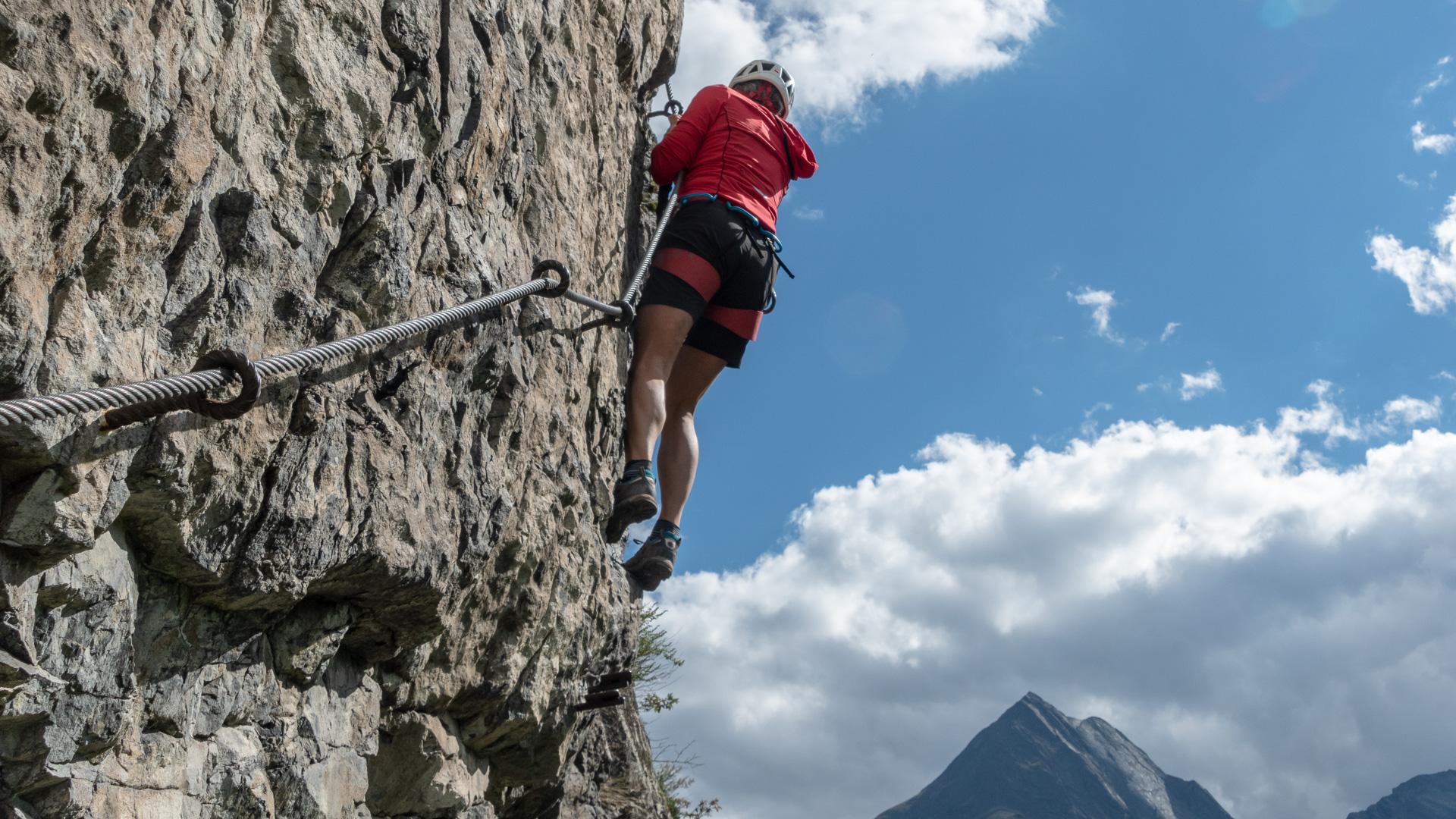 Klettersteig Längenfeld : Klettersteige reinhard schiestl steig auf die burgsteiner wand